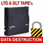 LTO, DLT Magnetic Media Data Destruction
